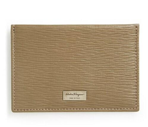 Salvatore Ferragamo 'Revival' Card Case @ Nordstrom
