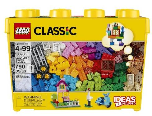 LEGO Classic Large Creative Brick Box @ Amazon