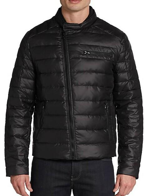Kenneth Cole Quilted Down-Filled Jacket @ Saks Off 5th