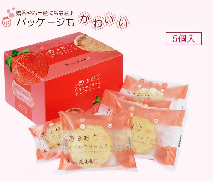 10% Off + Delivery from Japan Fuubian Amaou Strawberry Dacquoise Biscuit