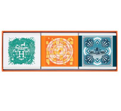 $66 HERMÈS Limited Edition Gift Set Comprised of 3 Cologne Soaps @ Neiman Marcus