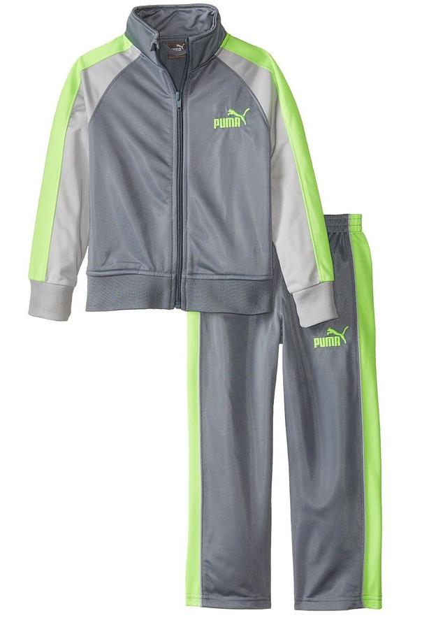 PUMA Little Boys' No. 1 Logo Tricot Track Set @ Amazon