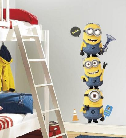 $13.96 Roommates Rmk2081Gm Despicable Me 2 Minions Giant Peel And Stick Giant Wall Decals