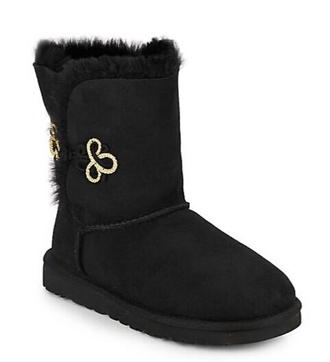 UGG Australia Bailey Mariko Shearling-Lined Suede Boots @ Saks Off 5th