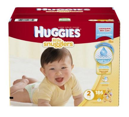 Extra 35% Off Select Huggies Little Snugglers Diapers @ Amazon