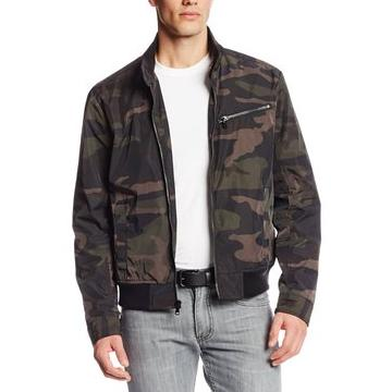 Kenneth Cole New York Men's City Camo Golf Jacket