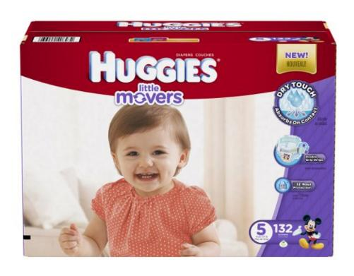 Prime Members Only! 30% Off+Extra $3 Off Huggies Diapers Sale @ Amazon