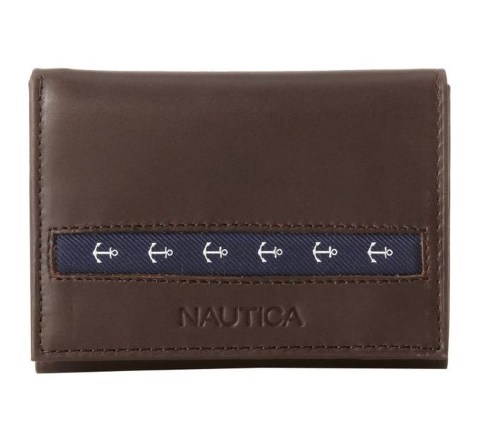 Nautica Mens Gangway Trifold Wallets