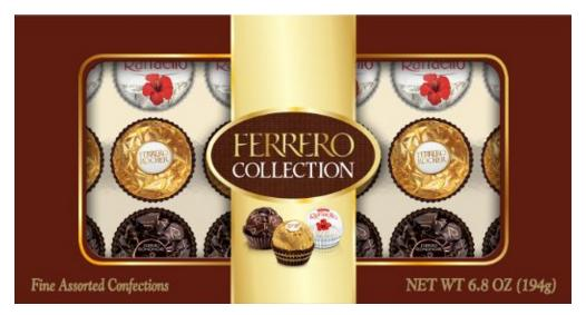 $3.29 Ferrero Collection, 18 Count, 6.8 Ounce (194 gm)