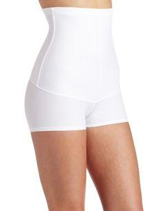 Maidenform Flexees Women's Shapewear Minimizing Hi-Waist Boyshort