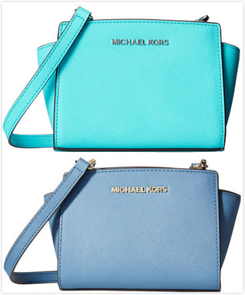 $142.99 MICHAEL Michael Kors Selma Mini Messenger On Sale @ 6PM.com