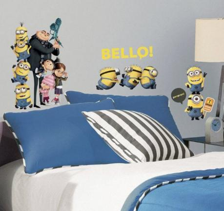 $9.42 Roommates Rmk2080Scs Despicable Me 2 Peel And Stick Wall Decals