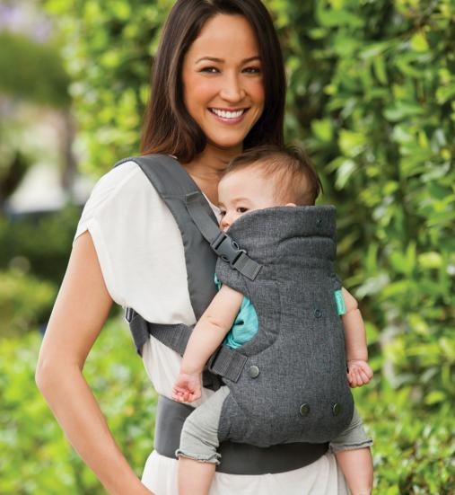 Infantino Flip Advanced 4-in-1 Convertible Carrier, Light Grey @ Amazon