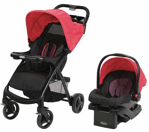Graco Verb ClickConnect Travel System Stroller - Spark