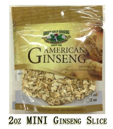 10% off + free 2oz mini ginseng slices Lunar New Year Promotion @ Green Gold Ginseng