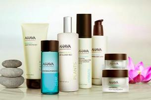Buy 1 Get 1 Free on Bath & Body Products @ AHAVA