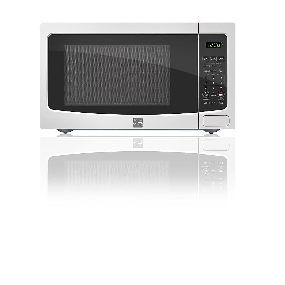Kenmore 1.1 cu. ft. Countertop Microwave Oven, White