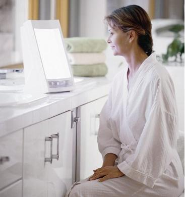 $56 NatureBright SunTouch Plus Light and Ion Therapy Lamp
