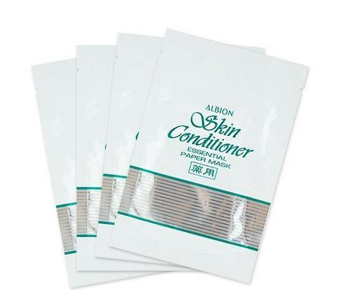 $23.99 Albion Skin Conditioner Essential Paper Mask 11ml x 4pcs