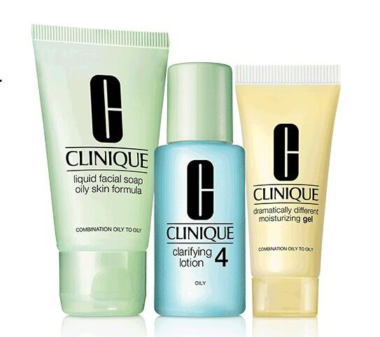 Free 3-Step travel kit with any $30 Purchase @ Clinique