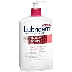 $9.38 Lubriderm Advanced Therapy Lotion for Extra-Dry Skin, 16-Ounce Pump Bottles (Pack of 2)