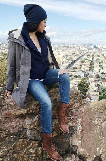 WOMEN'S WHITTEMORE WOOL ACCENT LACE-UP BOOTS @ Timberland