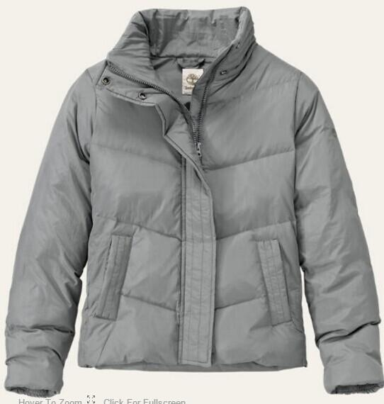 $59 WOMEN'S MOUNT MADISON SHORT DOWN COAT @ Timberland