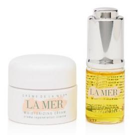 Free  Renewal Oil and Cr me de La Mer deluxe sample with $150 La Mer Purchase @ Bloomingdales