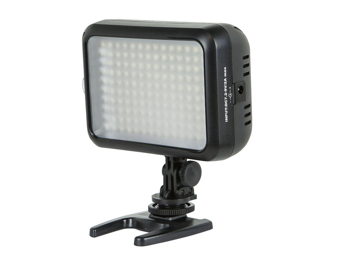 LED Video Camcorder Light with 140 Pieces LED and 960 Lumens Brightness