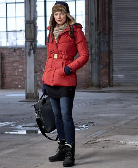 $80.99 Timberland Women's Mount Madison Mid Down Coat