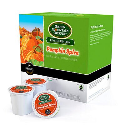 $4.47 Keurig Green Mountain Coffee Pumpkin Spice Limited Edition 18-pk