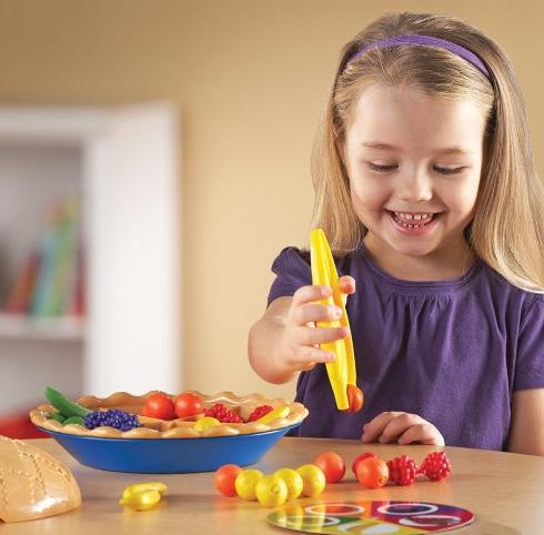 Learning Resources Super Sorting Pie @ Amazon
