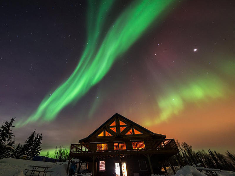 $85 OFF, From $539 Chasing Aurora Dream, Alaska Tour Package Sales at Usitrip.com