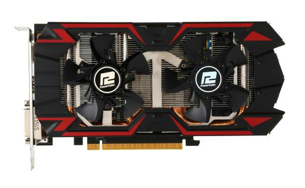 PowerColor PCS+ Radeon R9 380 4GB GDDR5 256-Bit Video Card