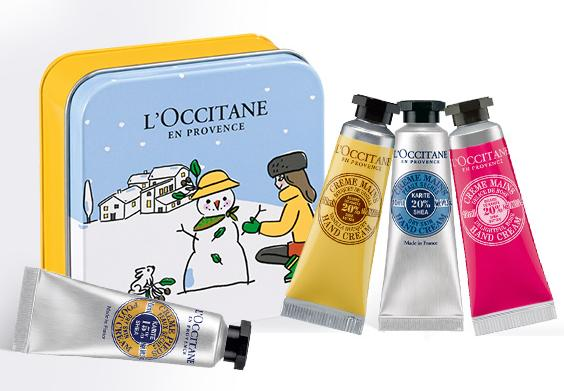 4 Free SHEA Hand Creams + Collectable Tin With Any $50 Purchase @ L'Occitane