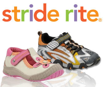 $5 Off Now, $10 Off Later Kids Shoes @ Stride Rite