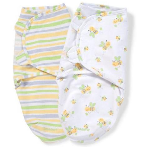 $12.34 Summer Infant SwaddleMe Adjustable Infant Wrap, 7-14 Lbs, Small-Medium, Bumble Bee @ Amazon