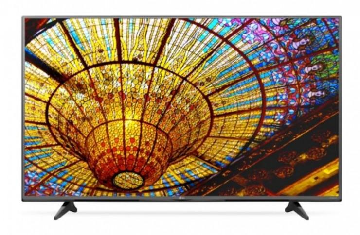 $702 LG 55-Inch 4K Ultra HD 120Hz Smart TV + $140 Kohls Cash