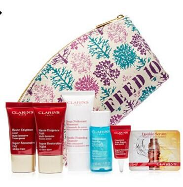 Free 13-Pc Gift with $75 Clarins purchase @ macys.com