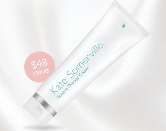 Free Complimentary Full Size exzema therapy cream ($48 Value) With Any $50 Order @ Kate Somerville