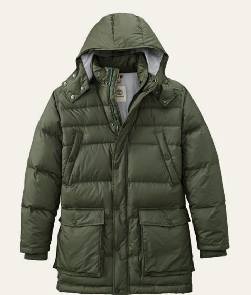 Timberland Men's Goose Eye Mountain Down Parka