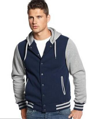 Ring of Fire Hooded Varsity Jacket @ macys.com