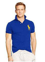 Up to 60% Off + Extra 20% Off Men's Polo Shirt Sale @ Ralph Lauren
