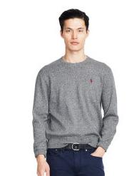 Up to 60% Off + Extra 20% Off Men's Crewneck Sweater Sale @ Ralph Lauren