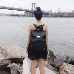 ALEXANDER WANG Prisma leather backpack On Sale @ The Outnet