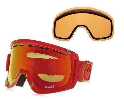 $37.99 Dragon D1 Snow Goggles With Bonus Lens