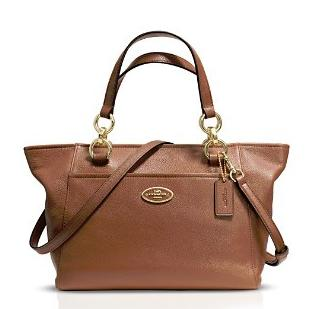 COACH Mini Ellis Tote in Pebble Leather