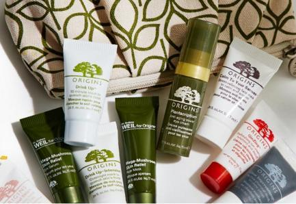 Free Gloomaway Deluxe Sample with Any $40 Order @ Origins