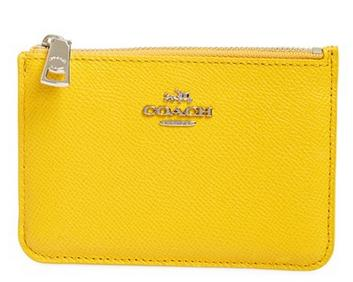 40% Off COACH Leather Coin Pouch @ Nordstrom
