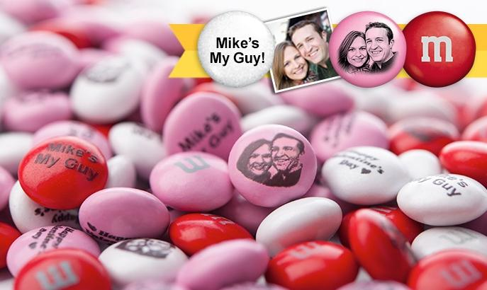 Personalized M&M'S from MyMMs.com @ Groupon